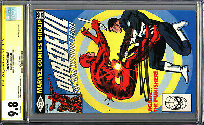 £304.43 • Buy Daredevil 183 CGC 9.8 SS Signed By Frank Miller WHITE PAGES Punisher Appearance