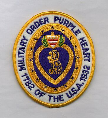 $7.08 • Buy Patch US . MILITARY ORDER PURPLE HEART (L68)