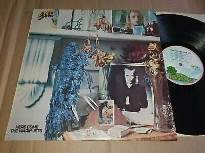 BRIAN ENO-HERE COME THE WARM JETS -1973 Uk ISLAND P/R GLAM //PROG-Nm/Ex+ • 6.50£