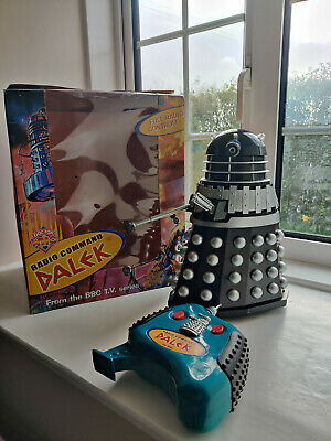 £105 • Buy Dr Doctor Who Product Enterprise 12  Classic Dalek Radio Command Black + Silver