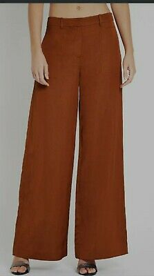 AU80 • Buy Sass And Bide Bnwt You Are The One Brick Size 12Silk Blend Pants