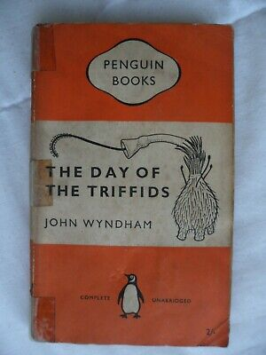 The Day Of The Triffids.  John Wyndham.  Penguin 993.  1954. 1st Penguin Edition • 2.50£