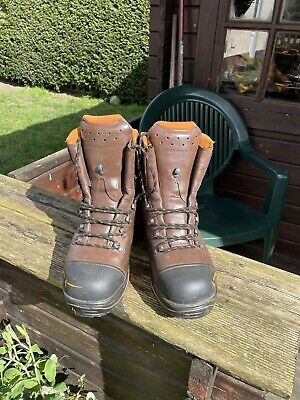 £170 • Buy Haix Chainsaw Boots Size 8