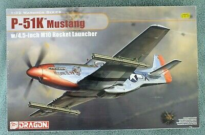 1/32 Dragon P-51K MUSTANG With 4.5-inch M10 Rocket Launchers  • 30£