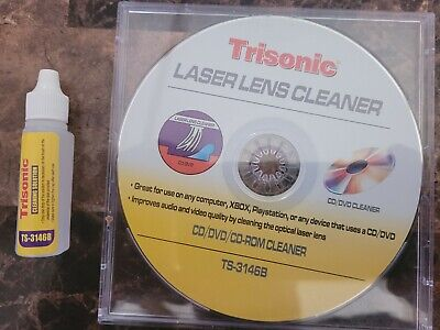 £4.71 • Buy Laser Lens Cleaner For CD DVD CD-ROM XBOX Playstation With Cleaning Kit PS2 PS3