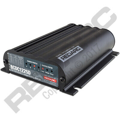 AU581.74 • Buy Redarc Battery Charger - 9 To 32V DC Operating Input / 12V DC Output BCDC1225D