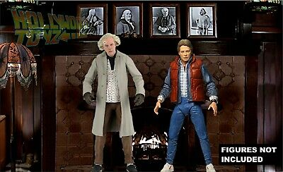 £12.74 • Buy Back To The Future NECA Doc Brown Mansion Fireplace Diorama Backdrop (No Figure)