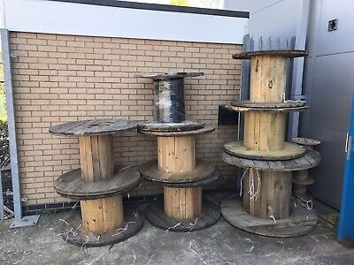 Used Wooden Cable Drums • 25£