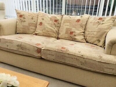 Three Piece Suite - 3 Seater Sofa & 2 Armchairs • 150£