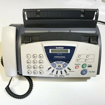 Brother FAX-575 Personal Fax With Phone And Copier • 50.93£