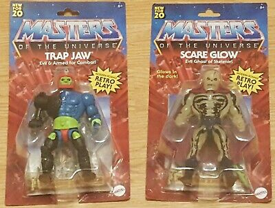 $59.99 • Buy Mattel Masters Of The Universe Trap Jaw And Scare Glow