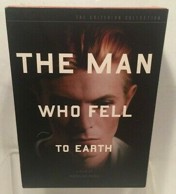 The Man Who Fell To Earth (2-Disc) Criterion DVD Set David Bowie N/Mint • 50.03£
