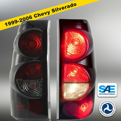 $48.68 • Buy 1999-2006 Chevy Silverado 99-03 GMC Sierra Pair Tail Lights Replacement Assembly