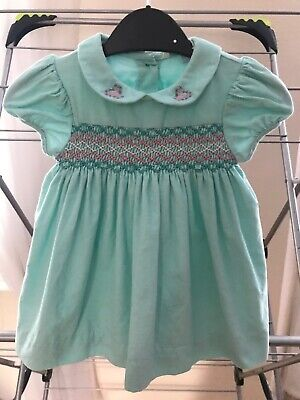 AU14.43 • Buy Beautiful John Lewis 0-3 Months Traditional Smocked Dress / Excellent Condition