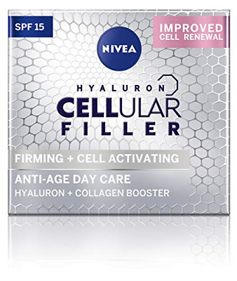 £12.98 • Buy NIVEA Hyaluron Cellular Filler Anti-Age Day Cream SPF 15, Anti Ageing Cream With