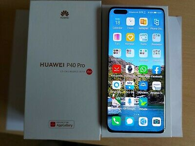 HUAWEI P40 - PRO 5G 256 GB SILVER FROST With Extras - Boxed • 425£