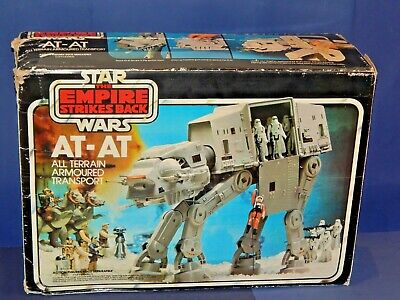 $ CDN574.58 • Buy Vintage Star Wars AT-AT Walker Complete With Box Working Electrics