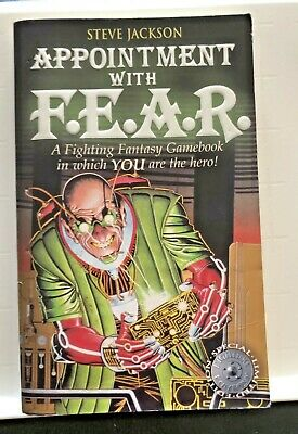 AU13.91 • Buy Fighting Fantasy APPOINTMENT WITH F.E.A.R Steve Jackson #18 FF