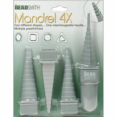 £11 • Buy Beadsmith Mandrel 4X Set Wire Wrapping Forming Bending Jewelley Making Tool