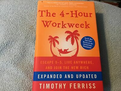 AU16.73 • Buy The 4-Hour Work Week : Escape 9-5 Timothy Ferriss Hardcover