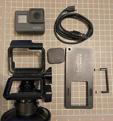 AU106.18 • Buy GoPro Hero 5 Includes Charging Wire Battery Pack SD Card And Two Mounts