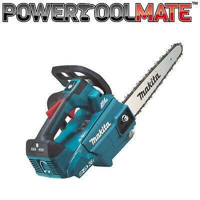 View Details Makita DUC256Z Twin 18v / 36v LXT Cordless Lithium Ion Chainsaw 250mm Bare Unit • 222.99£