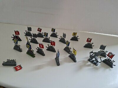 £20 • Buy Games Workshop Mighty Empires 1990 Version Army Banners Troop Pieces Lot Spares