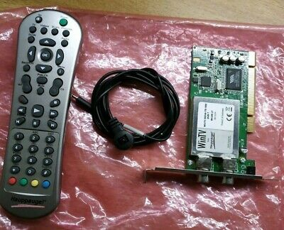 £25 • Buy Hauupauge Wintv-Nova-TD-500 DVB-T With Remote Control And Auxiliary Fly Lead