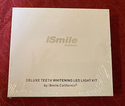 AU52.46 • Buy ❤️ismile Teeth Whitening Kit Deluxe Kit Professional W/ Led  Light!  Brand New!