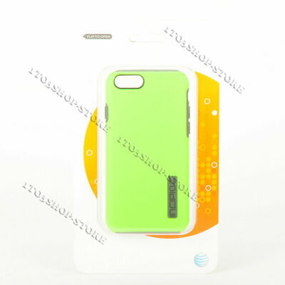 AU9 • Buy Incipio DualPro Shackproof Snap Cover IPhone 6 & IPhone 6s Case - Green / Gray