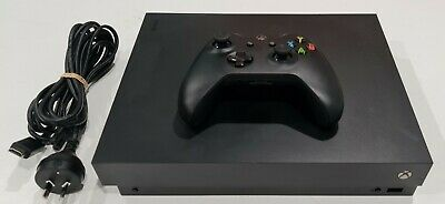 AU202.50 • Buy Microsoft Xbox One X 1tb With Controller Model 1787