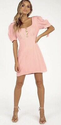 AU30 • Buy Finders Keepers Francis Dress Blush Size M
