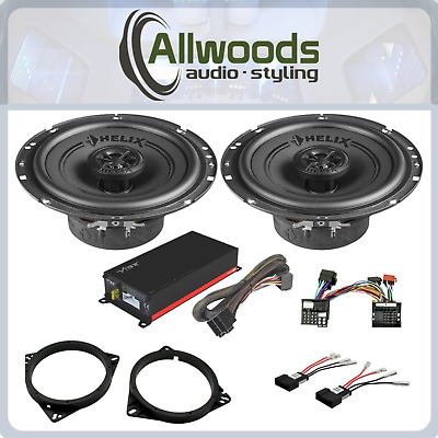 £184.99 • Buy Plug & Play HELIX F 6X Speakers And Vibe Micro Amp Upgrade Toyota Avensis