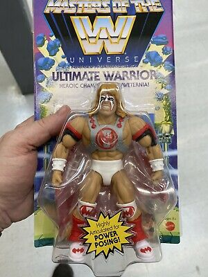$23.50 • Buy Ultimate Warrior Wave 6 Masters Of The WWE Universe MOTU Wrestling New Sealed