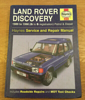 Land Rover Discovery Haynes Service And Repair Manual • 3£