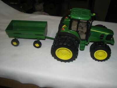 AU26.22 • Buy John Deer Toy Tractor And Wagon