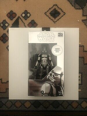 Star Wars The Black Series 6 Inch Carbonized Stormtrooper • 21£