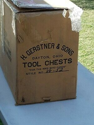 $750 • Buy H. Gerstner & Sons W52 Machinist Tool Chests Used W/Box PICK UP ONLY NO SHIPPING