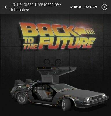 $42.99 • Buy Back To The Future DeLorean Common INTERACTIVE VeVe App NFT Digital Collectible