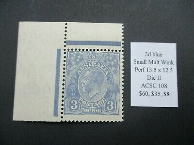 AU28 • Buy KGV Stamps: Variety Mint -  RARE  - Must Have (e15)