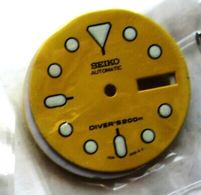 $ CDN57.02 • Buy Yellow Dial, Hands & Chapter Ring Set Fits Seiko SKX013 7s26-0030