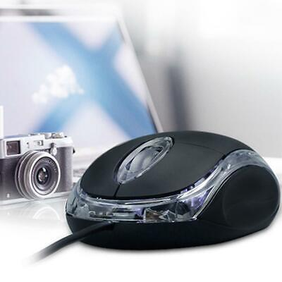 AU8.94 • Buy Wired USB Optical Mouse For PC Laptop Computer Scroll Wheel LED LightsGaming AU