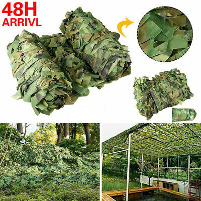 £12.98 • Buy UK Camouflage Netting Camo Net Hunting Shooting Camping Army Green Hide Cover