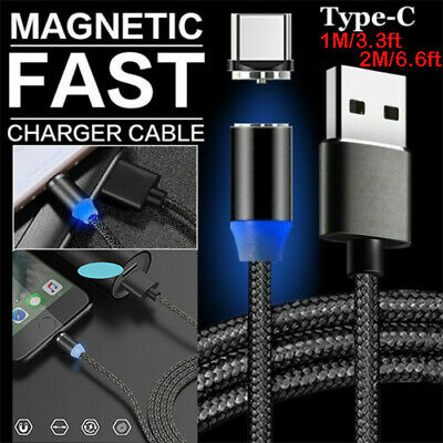 AU3.99 • Buy USB-C 3.1 Type C Braid Cable Fast Charge For Samsung S21 S20 Ultra S10 5G S9 S8