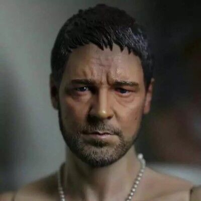 $25.99 • Buy Gladiator Russell Ira Crowe 1/6 Head Sculpt For Hot Toys Enterbay Body Toys