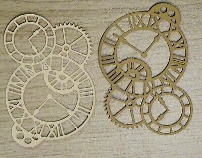 £1.80 • Buy 10 X Die Cut Shapes, Assorted Colours/ Designs, Embellishments, Card Toppers