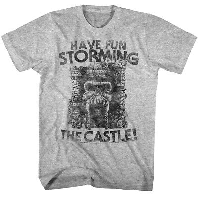 $20.49 • Buy Masters Of The Universe Have Fun Storming Castle Grayskull Men's T-Shirt He-Man