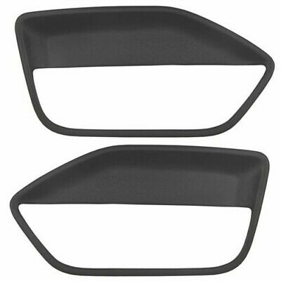 $40 • Buy Door Panel Inserts Hard Cover Black 05-09 Ford Mustang + Adhesive (NEW)
