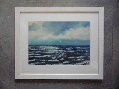 £395 • Buy Winter Morning, St Ives. Seascape Oil By Michael Quirke Listed.