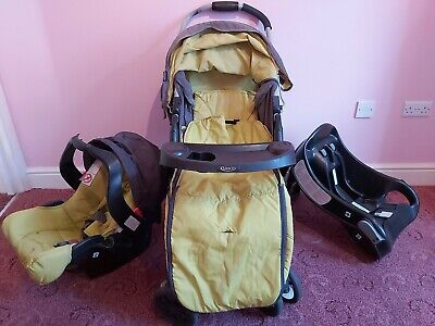 Graco Travel System In Lime Green • 4.80£